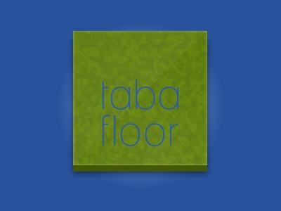 Tabafloor Logo logo green tabafloor floor