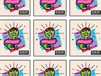 Stickers!! 🐍🌹