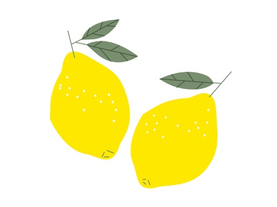 Some bright lemons minimalart minimalism illustrator graphic design berlin vector illustration