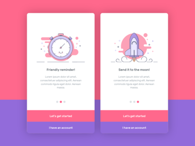 Walktrough login ux ui onboarding walktrough