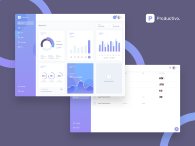 Productivo Dashboard (WIP) productivity manager file statistic kit ui dashboard