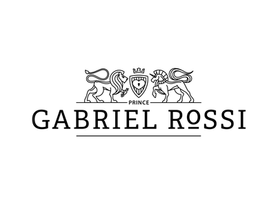 Gabriel Rossi — Logo creation circles circle graphic design logo clean brand identity branding divine proportions golden ratio animation draw draft wip flat art illustration sketch typography vector