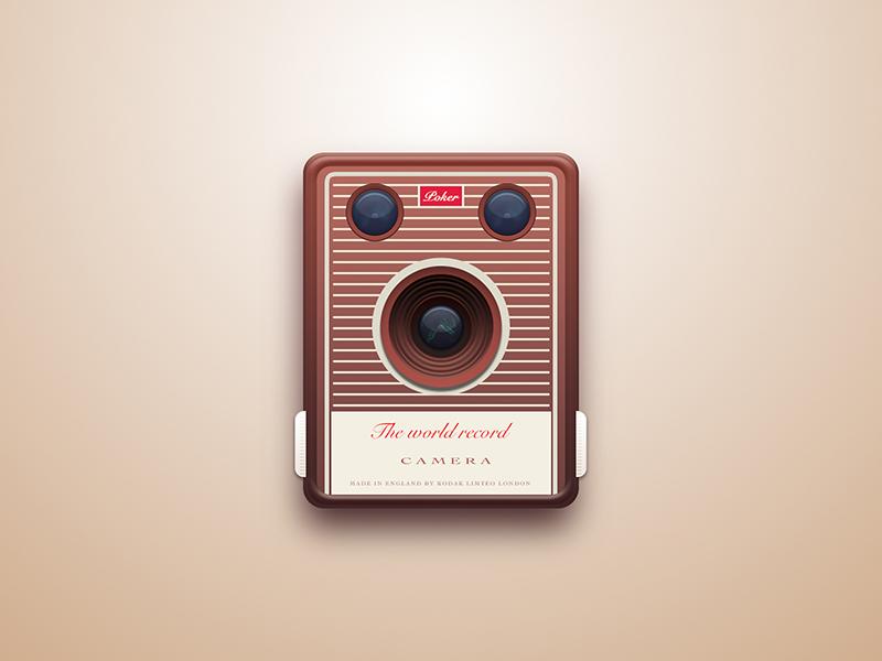 Camera icon ui camera