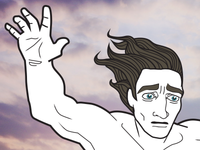 Apollo smacks Patroclus