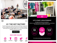 The HIIT Factory Newsletter