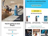 Owyn E-mail Design