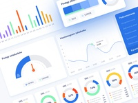 Dashboard UI design blue dashboad dashboard design dashboard ui creative  design design ecommerce