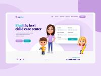VegaPlus - Childcare Directory Web Design Mockup wordpress design wordpress theme magento theme landing page design landing design onepage themeforest dexim ui  ux ecommerce