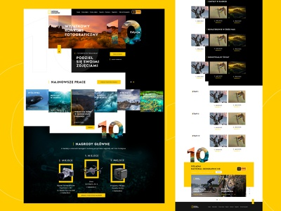 Official website National Geographic channel national geographic dexim webdesign design themeforest color creative  design ecommerce