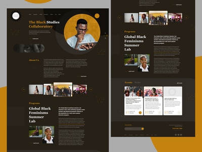 Wodpress one page design, Web design ui  ux one page website web design website black one page design one page