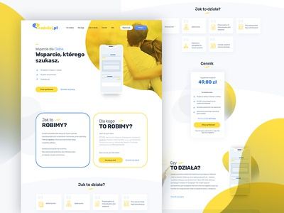 Landing Page uxui ecommerce webdesign dexim ux ui design landing page