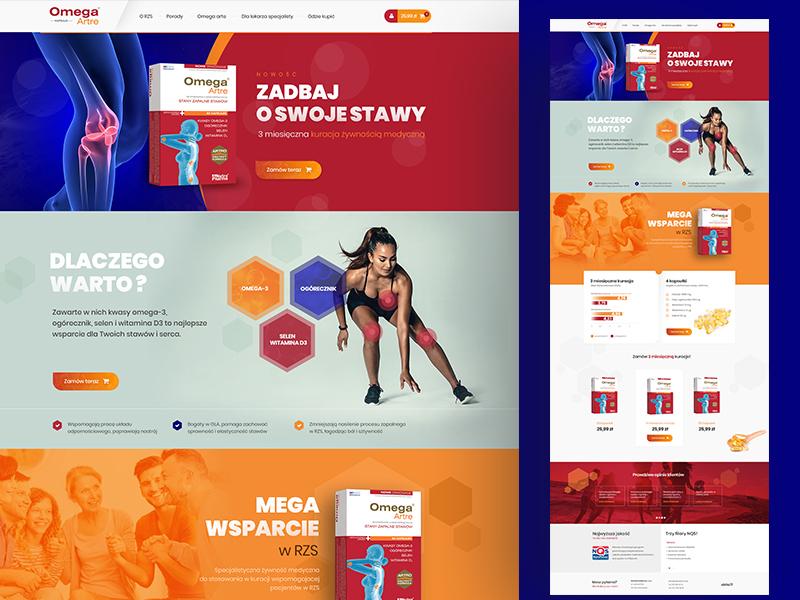 OnePage Shop ui  ux ecommerce webdesign creative  design shop dexim