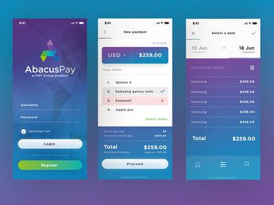 Payment APP iphone ui payment app ecommerce iphone app ui  ux