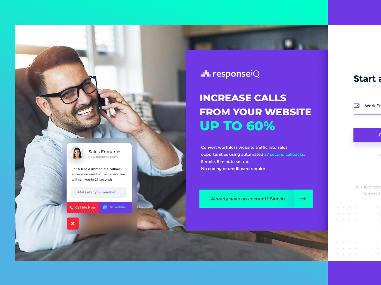 Response Get Started page3 dashboard dexim app ui  ux ui color webdesign creative  design themeforest iphone