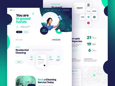 KlinPlanet clean ui design clean designer portfolio webdesigner poland webdesign design color creative  design ui  ux dexim