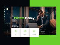 Real Estate Web Design Landing Page