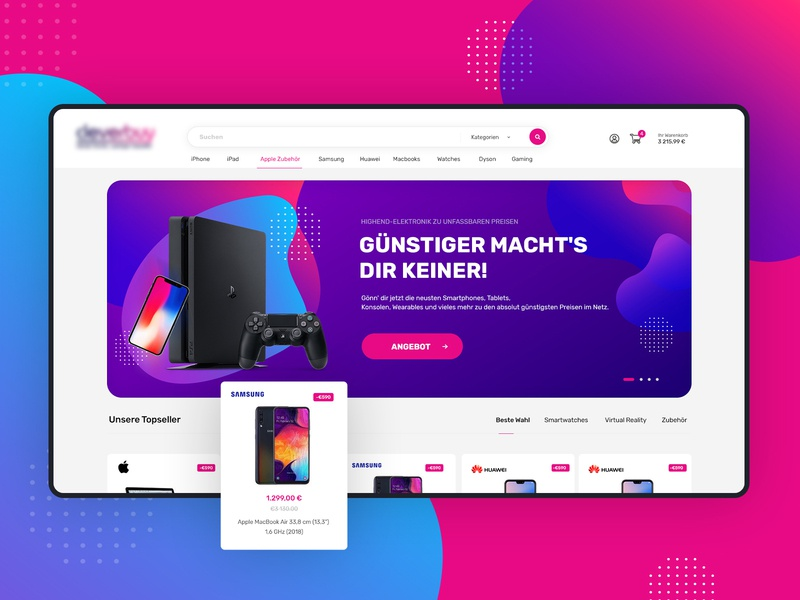 🛒 ecommerce store - magento design template hero banner sneak peek magento magento theme design creative  design ecommerce