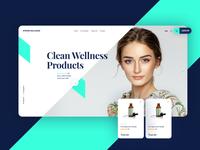 Stroma Wellness - CBD Oil Website Design Mockup