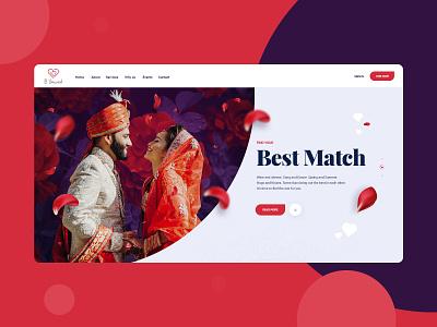 Match Making Dating Site Website Design Mockup product designer webdesigner magento theme wordpress designer dexim magento design