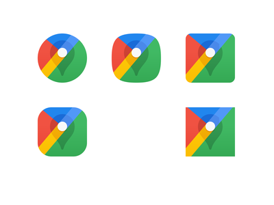 Google Maps - Adaptive Icon google google maps adaptive icon material theming logo icon product icon android icons iconography material design
