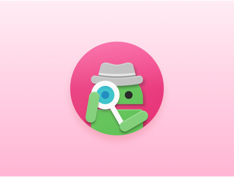 App Reader - Product Icon readers detective search adaptive icons adaptive icon logo icon product icon iconography material design android reader