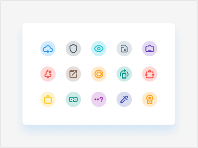 Clipto System Icons adaptive icons adaptive icon material theming logo icon android product icon icons iconography material design