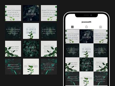Lift's Instagram Grid — 1 illustration layout grid instagram