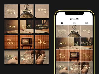 Lift's Instagram Grid — 2 instagram post layout grid