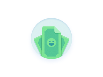 RIP Wallet — Logo illustration wallet bill dollar money finance logo design logo