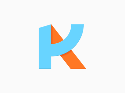 Kevin Aguilar Logo k logo a k personal logo google icons logo iconography material design