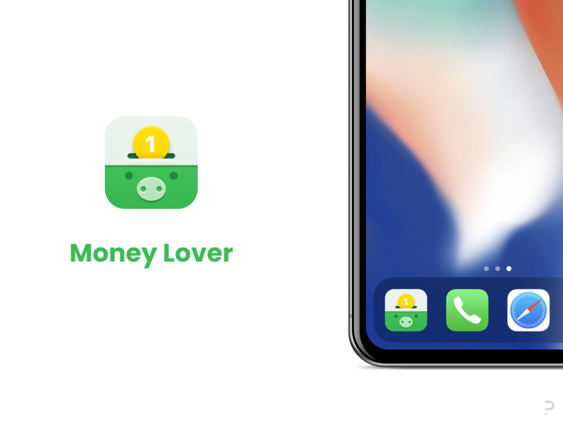 Money Lover - Concept ios logo product icon icons iconography
