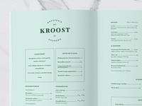 Logo and menu-design Kroost