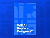 Will AI replace designers?