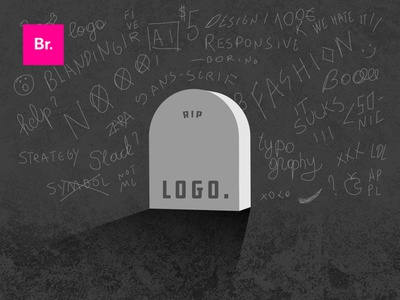The logo is dead, long live the logo! brand strategy messaging ai blanding identity typography branding logo
