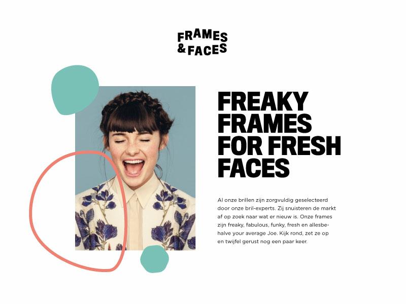 Frames & Frames #1 identity typography branding logo