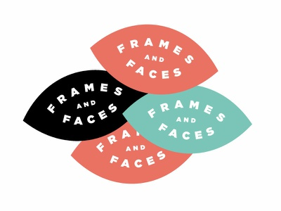 Frames & Fraces #2 eyewear identity typography branding logo