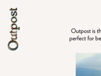 Outpost Homepage 1 2016