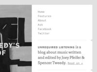 Unrequired Listening