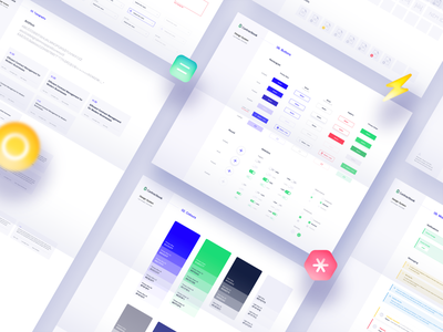 Contractbook - Design Style Guide v2.0 contractbook color palette color modern minimal ui contract management contract ui style guide design system styleguide design