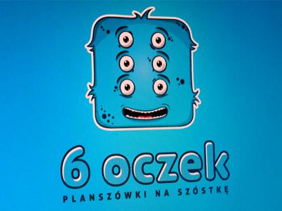 6 oczek illustration monster rozmin board games