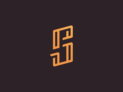 Monogram ps monogram logo personal branding logotype letter