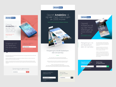 Campaign templates template layout minimal web