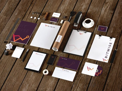 Rebranding logo design identity red orange purple collateral rebranding rebrand logo
