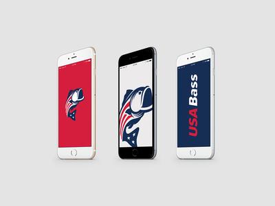USA Bass Logo Identity