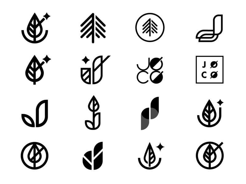 JOCO - Logo Identity Iterations