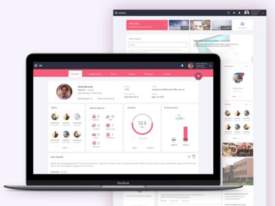 Human Resources Management Web