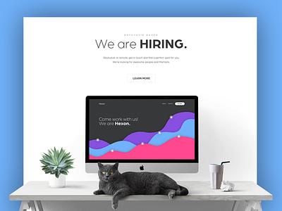 Portfolio Concept mockup slick minimal clean dashboard portfolio theme ux ui web website