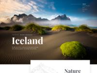 Iceland big dribbble