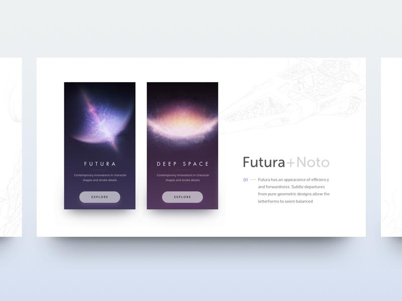 Sans Beauty card minimal clean web fonts sans ux ui layout typography typo