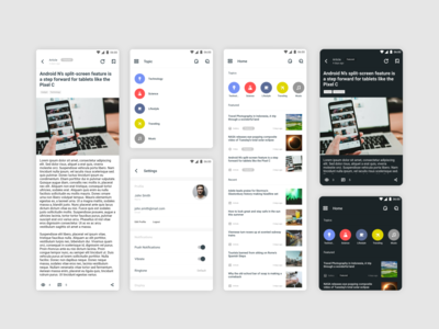 Notch - Android News Application